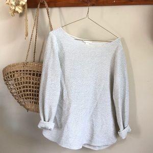 White & Grey Knit